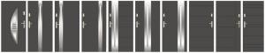 Drzwi Wikęd ułożone obok siebie 1