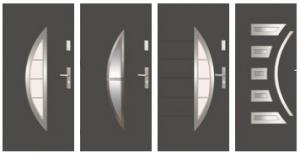 Drzwi Wikęd ułożone obok siebie 2